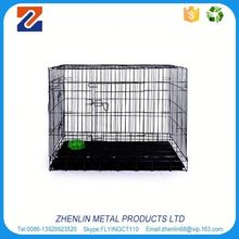 Alibaba china supplier good quality metal foldable dog crate dog cage