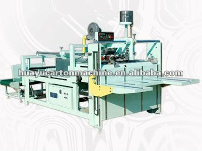 DFHC-FG-02 Series semi-auto carton folder gluer machine