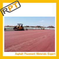 Ready made color asphalt, colored pavement