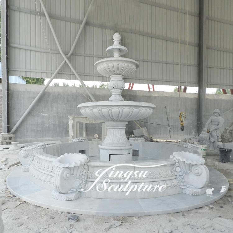 Popular desigh wedding decoration water fountain