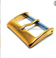 Popular Gold tone watch strap buckle 18mm 20mm 22mm 24mm