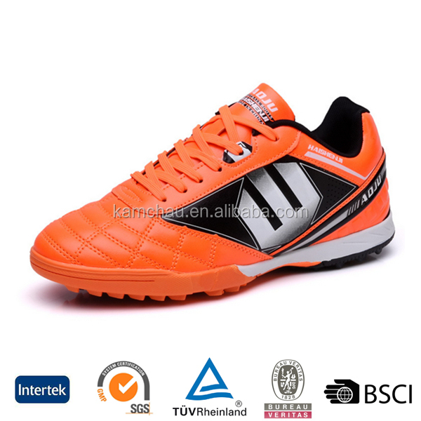 best selling good quality oem design durable futsal indoor turf sports football soccer shoes
