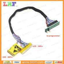 LCD LED screen EDID code chip data read line 2 in 1 Cable online Read and Write for RT809F RT809H TL866CS