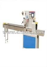 Biscuits, Candies, Cakes, Bearings, Disposable Syringe, Chikkies, Chocolate Bar, Soaps packing machine