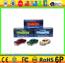 1:32 Scale Pull back toy car Shevrolet metal model car mini die cast car with light and music