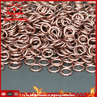 rolled length brazing ring refrigerator