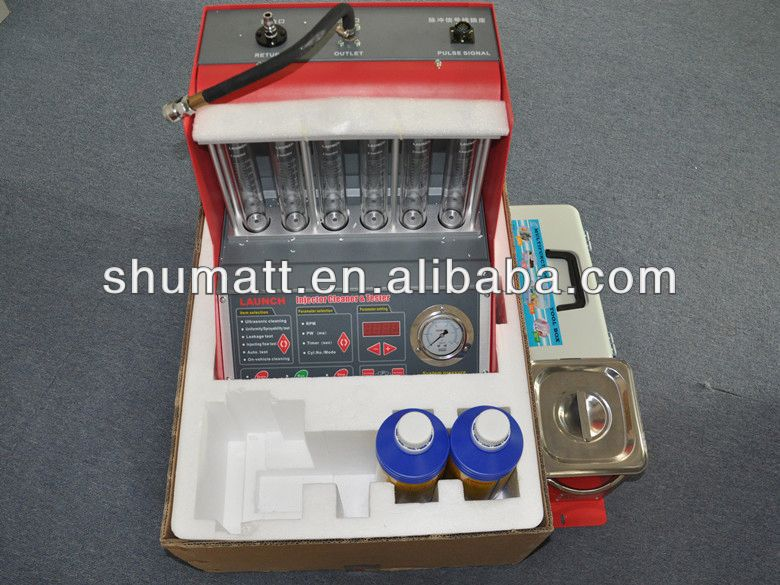 Full functional Best machine Laun ch CNC602A injector cleaner & tester with factory price