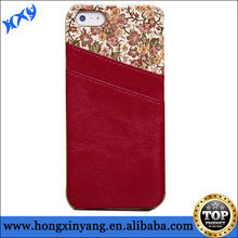Lagging Leather Free Sample Cell Phone Case for iPhone 5 5s