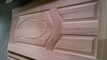 2.5mm plywood and HDF door skin with natural veneer