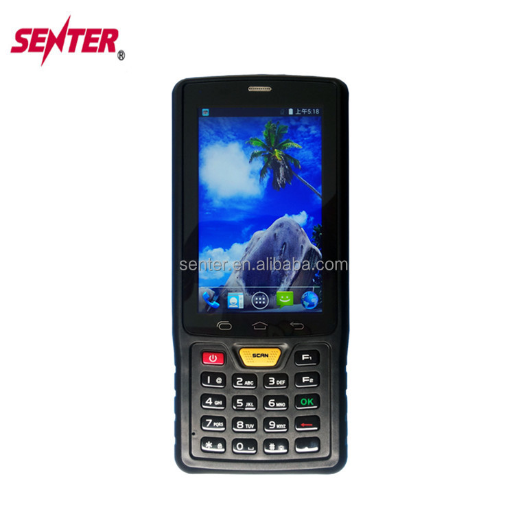 Industrial PDA android os with mobile thermal built-in printer