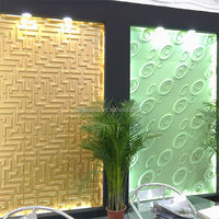 Low Price KTV Interior Decoration Fashion Carved 3D Wall Covering Panels
