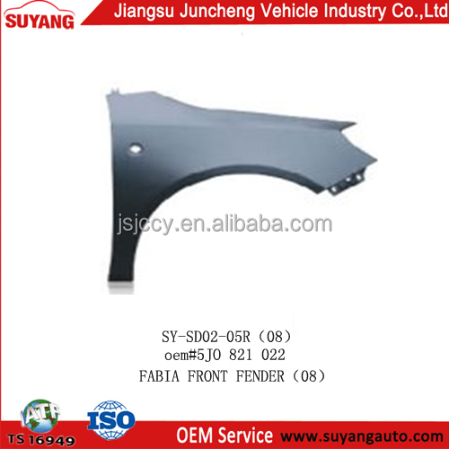 Metal front fender apply to SKODA FABIA auto car parts