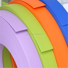 table edging strip plastic/plastic cabinet edge trim/furniture pvc edge banding