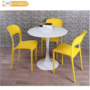 Factory induction charge led table party furniture rotational mould manufacturer, table and chair mould