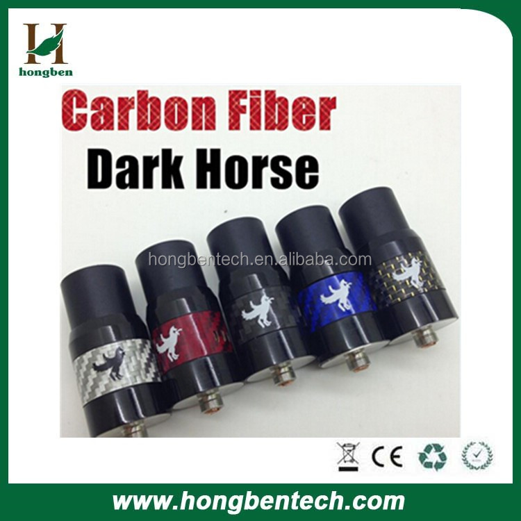 Rebuildable dripping atomizer dark horse atomizer,big discount dark horse,DIY dark horse rda