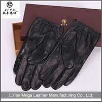 Made in China Hot Sale men's motorcycle leather gloves for driving