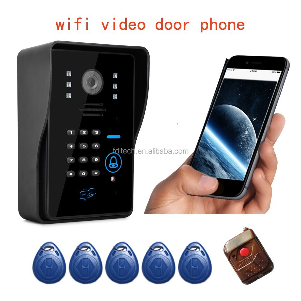 FDL-WFK12 hot sale new arrival apartment wifi video door phone intercom