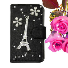Crystal Flowers Diamond Bling Phone Case for iPhone 4 4S