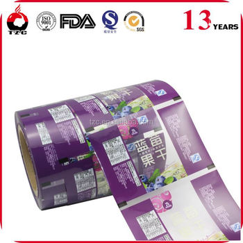 transparent color PET vacuum packing film
