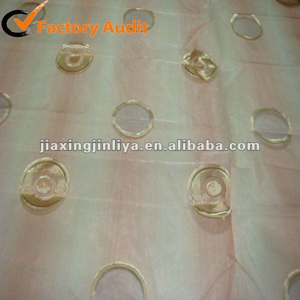 Excellent Jacquard curtain fabric for hotel decoration