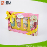 Wholesale best care nature perfume hand cream with beauty paper packaging