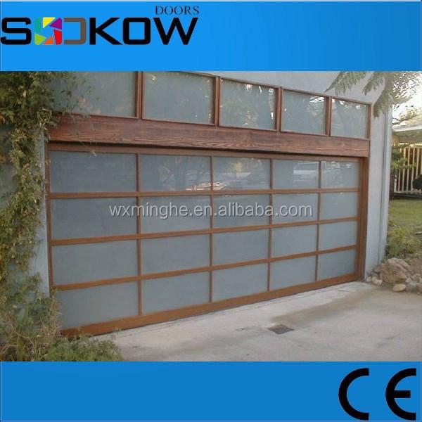 Plexiglas garag manufacturier portes aluminium panneau - Panneau porte de garage sectionnelle ...