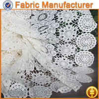 Newest Fashion Floral Embroidery Lace Fabric