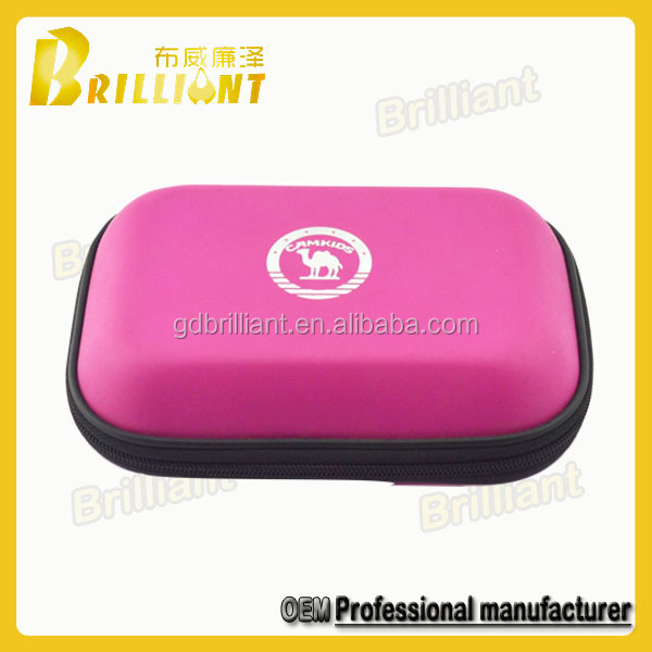 New custom packaging leather hard shell cosmetic beauty case