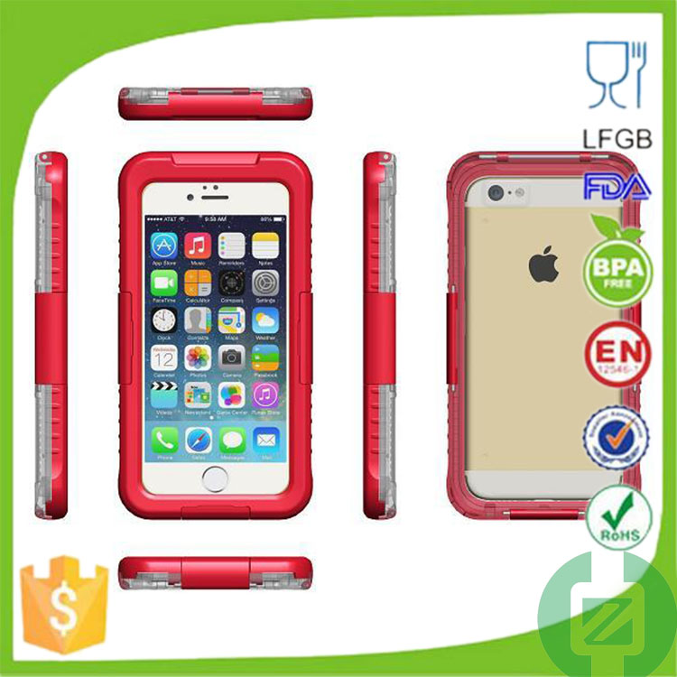 china supplier ip68 waterproof case for iphone6