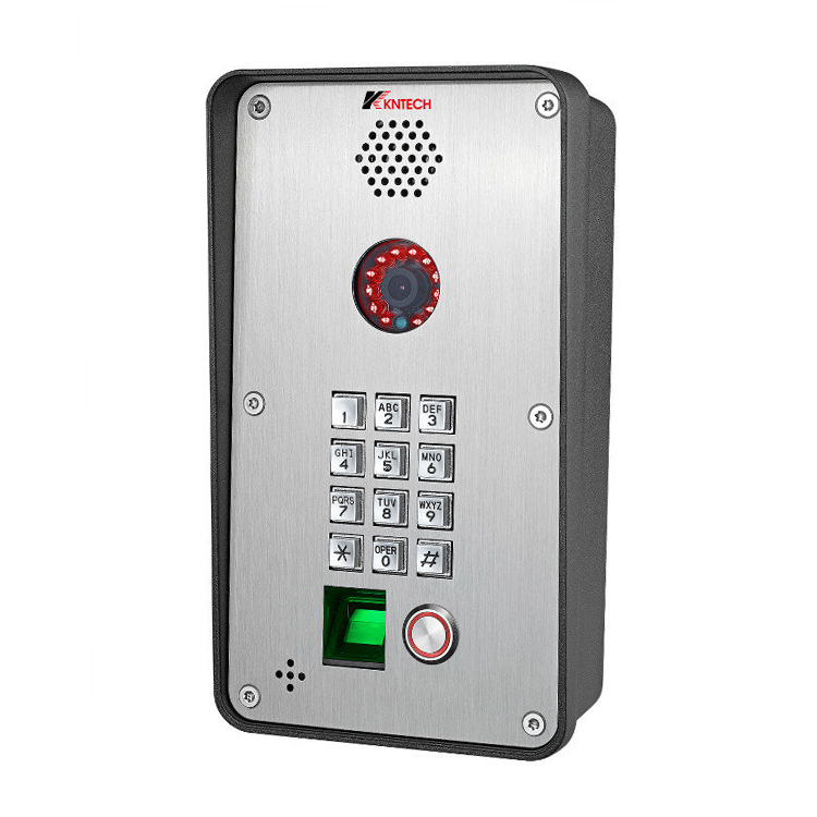 Outdoor Video Fingerprint Doorphone Zutrittskontrollsystem Sip  Ip-video-gegensprechanlagen - Buy Video Fingerprint Türsprechanlage,Ip  Video ...