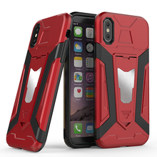 Unique Design Hybrid 2 in 1 Kickstand Design Combo Hybrid Phone Case For Iphone x