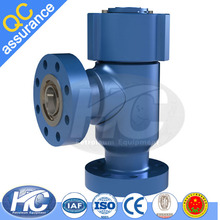 High quality oil and gas well wellhead used positive choke valve / fixed chokes