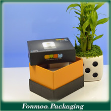 Customized fashion paper packaging bag / wax corrugated packaging box
