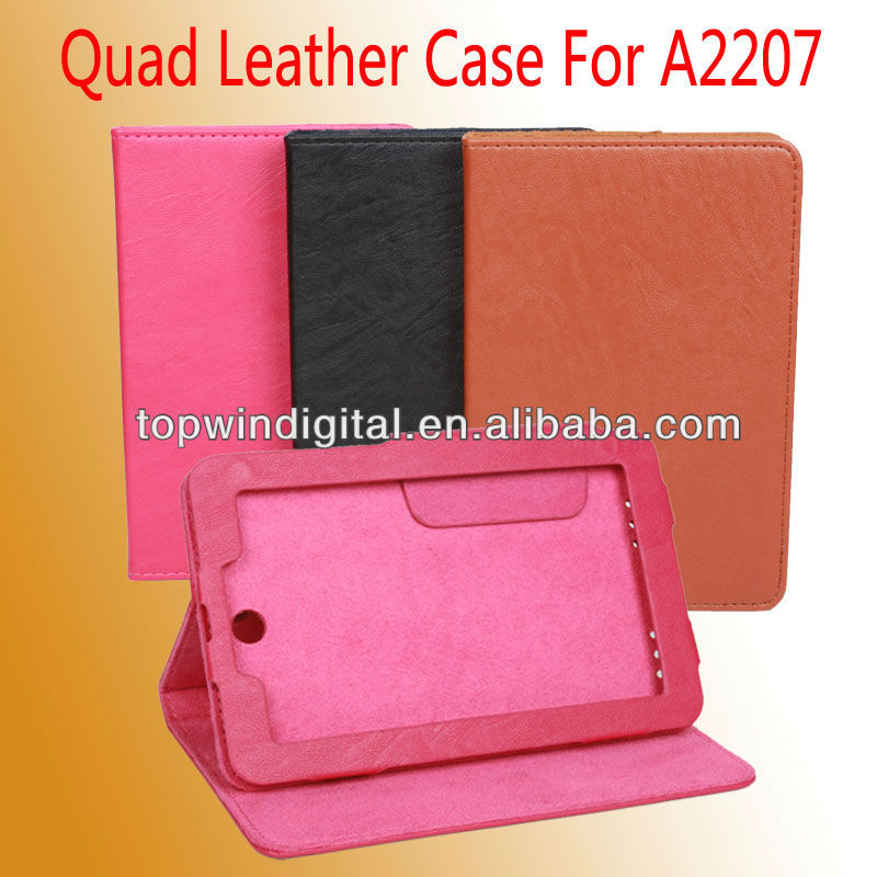High Quality PU Leather Case For Lenovo A2107