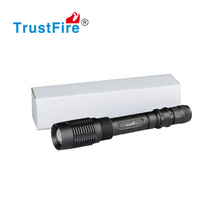 TR-Z5 genuine zoomable light 1600LM narrow angle TrustFire focus hunting flashlight 18650 led torch
