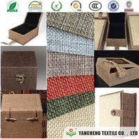 double colours linen fabric based 80g paper /special paper for box outside cover