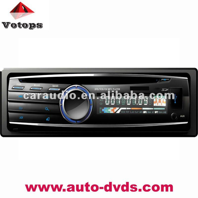 one din car dvd connect subwoofer
