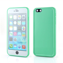 Plastic TPU Hybrid Full Cover Waterproof Phone Case For iPhone 6S Water Proof Cover