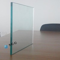 Decorative Glass Function and Flat Shape clear float glass m2 price