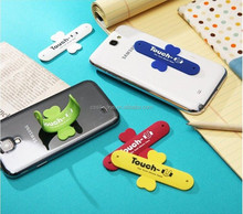 2015 hot selling promotional gifts Multipurpose creative silicone phone stand