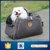 Wholesale pet carrier airline approved dog bag fashion dog carrier tote