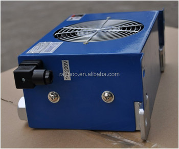 industrial hydraulic fan oil cooler for cnc machinery