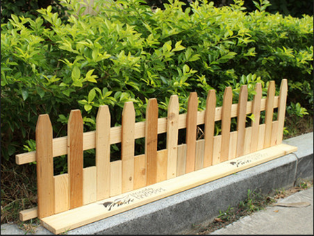 cheap fir wood fence