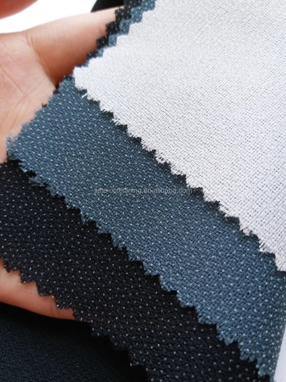 75D Heavy Weight Woven Fusing Interlining&linings For Garment Accessories