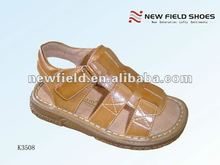 new style fashion classic children pu slippers and sandals in summer