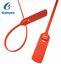 High security pull tight plastic security seal for Oil tank truck GY116