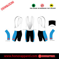 Custom Lycra Pro Team Cycling Bicycle Bike Bib shorts