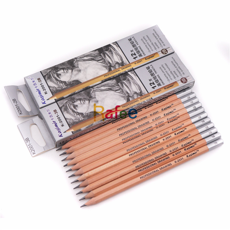 12Pcs/set B/2B/3B /4B/5B/6B/8B/10B/12B/<strong>H</strong>/2H/HB Professional Sketch Drawing Wooden Graphite Pencil Set