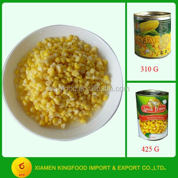 Best Canned Sweet Corn in different sizes