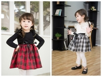 Latest Child Cotton Frock Design For Kids Dress
